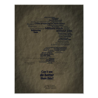 Can't We Do Better Than This? Poster