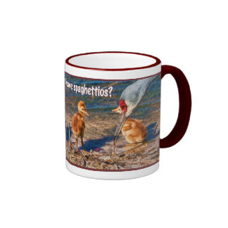 Can't We just Have spaghettios, Mom? Coffee Mugs