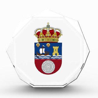 Cantabria (Spain) Coat of Arms Acrylic Award