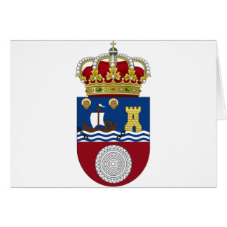 Cantabria (Spain) Coat of Arms Card