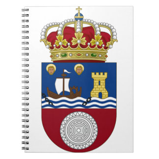 Cantabria (Spain) Coat of Arms Note Books