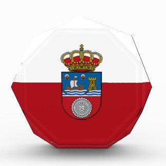 Cantabria (Spain) Flag Acrylic Award
