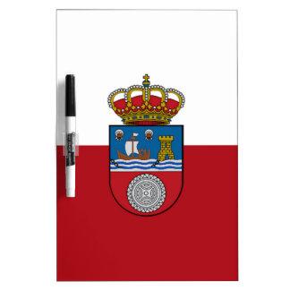 Cantabria (Spain) Flag Dry-Erase Board
