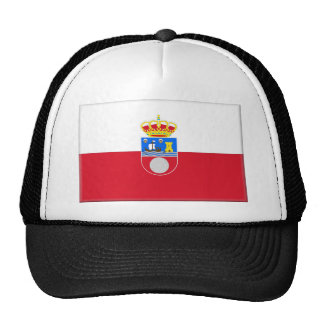 Cantabria (Spain) Flag Mesh Hats