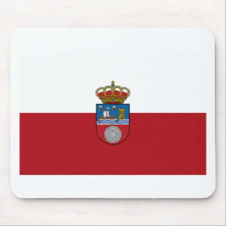 Cantabria (Spain) Flag Mouse Pads