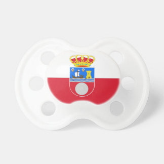 Cantabria (Spain) Flag Baby Pacifiers