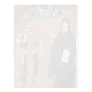 Cantacuzenos Double Portrait Of The Emperor And Mo Letterhead