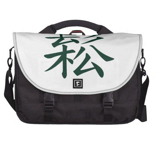 Cantado - el fluir chino del significado de la ji  bolsas de portátil