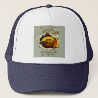 Cantaloupe Fruit Seed Advertising Vintage Trucker Hat