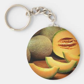 Cantaloupe Keychain