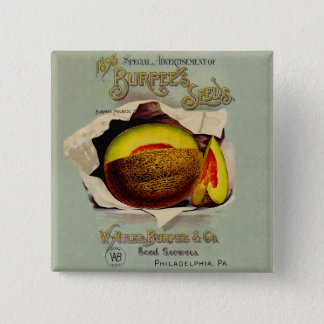 Cantaloupe Seed Advertising Button