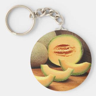 Cantaloupes Keychain