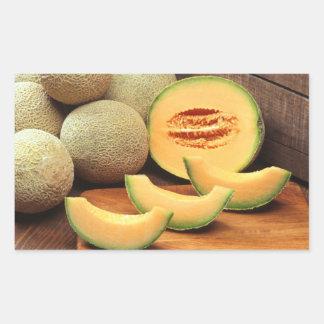 Cantalupo Pegatina Rectangular