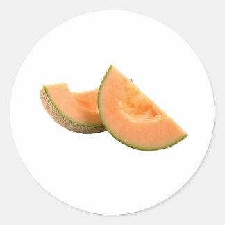 Cantalupo Pegatina Redonda