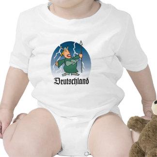 Cantante alemán de la ópera traje de bebé