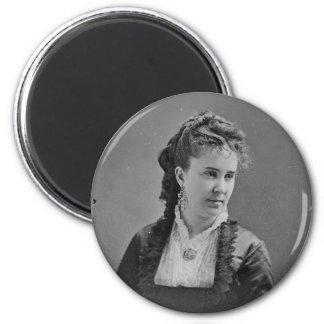 Cantante Clara Louise Kellogg de la ópera de Mathe Imán De Nevera