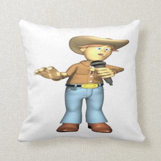 Cantante de country 4 almohada
