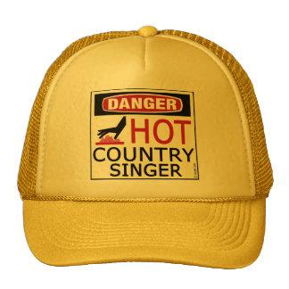 Cantante de country caliente gorro de camionero