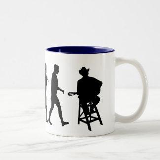 Cantante de la música country de la música country tazas de café