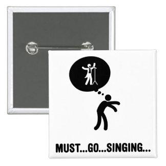 Cantante de la ópera (tenor) pins