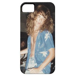 Cantante del beso de Mike del medallón negro circa iPhone 5 Case-Mate Carcasas