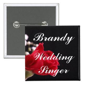 Cantante del boda pin