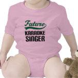 Cantante del Karaoke (futuro) Camisetas