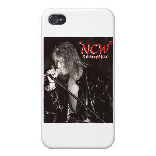 """Cantante """"NCW """" del mac de Kenny iPhone 4/4S Carcasas"""