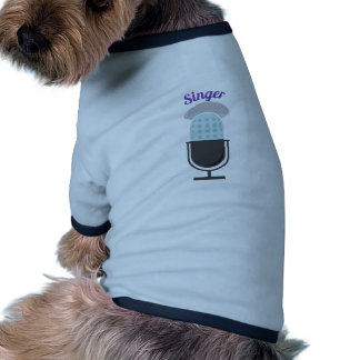 Cantante Camisetas De Perro