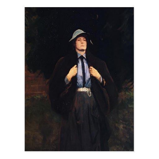 Cantante Sargent-Clementina Austruther Thompson de Tarjeta Postal