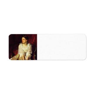 Cantante Sargent- Helen Dunham de Juan Etiquetas De Remite