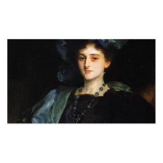 Cantante Sargent- Katherine Lewis de Juan Plantilla De Tarjeta De Visita
