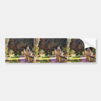 Cantante Sargent- Villa di Marlia de Juan: Lucca Etiqueta De Parachoque