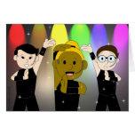 Cante, baile, tarjeta de cumpleaños gay de WURK