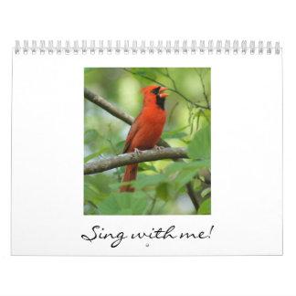 ¡Cante conmigo! Calendario De Pared