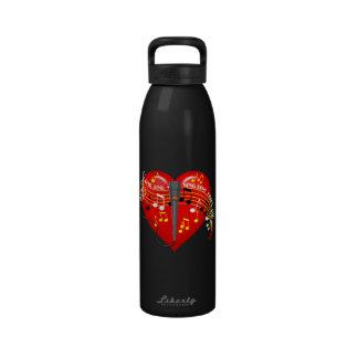 Cante de la libertad oscura Waterbottle del Botellas De Beber
