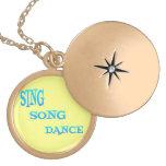 Cante el arte de la danza de la canción joyeria