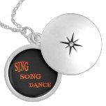 Cante el arte de la danza de la canción pendientes