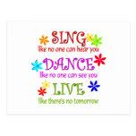 Cante la danza viva postales