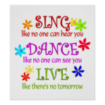 Cante la danza viva poster