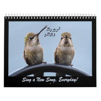 Cante una nueva canción diaria calendario
