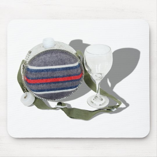 CanteenWineGlass050209Shadows Mouse Pad