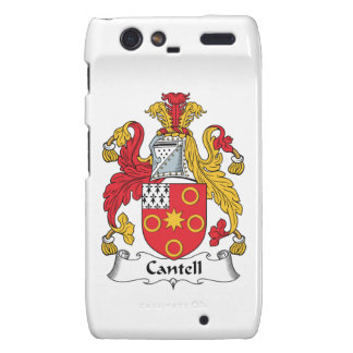 Cantell Family Crest Droid RAZR Covers