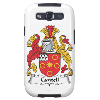 Cantell Family Crest Samsung Galaxy SIII Case
