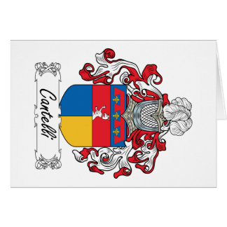 Cantelli Family Crest Card