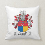 Cantelli Family Crest Pillows