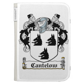 Cantelow Family Crest Kindle Folio Cases