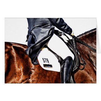 Canter Pirouette Card