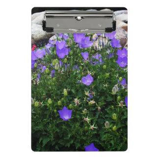 Canterbury Bells & Bellflowers Mini Clipboard