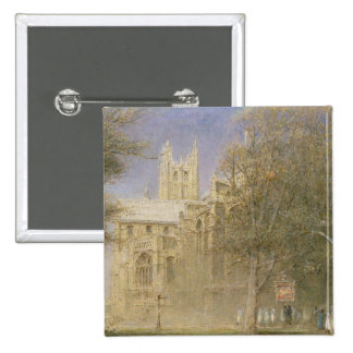 Canterbury Cathedral 2 Inch Square Button